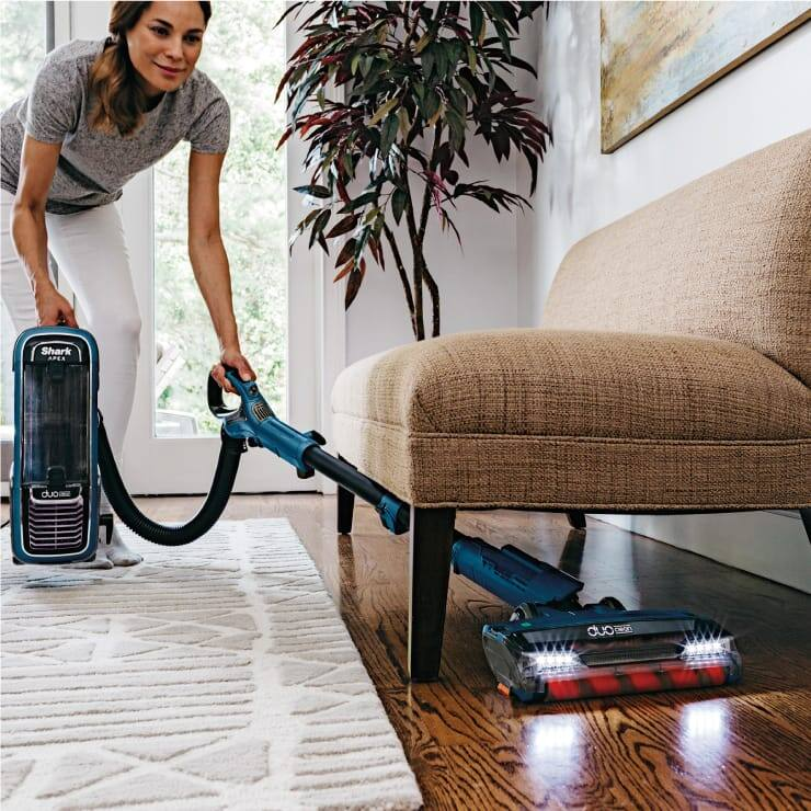 Upright Bagless Vacuum Duoclean 174 Technology Shark