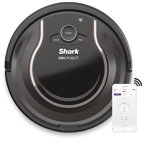 Shark Ion Robot Vacuum R75 With Wi Fi Rv750 N Shark 174