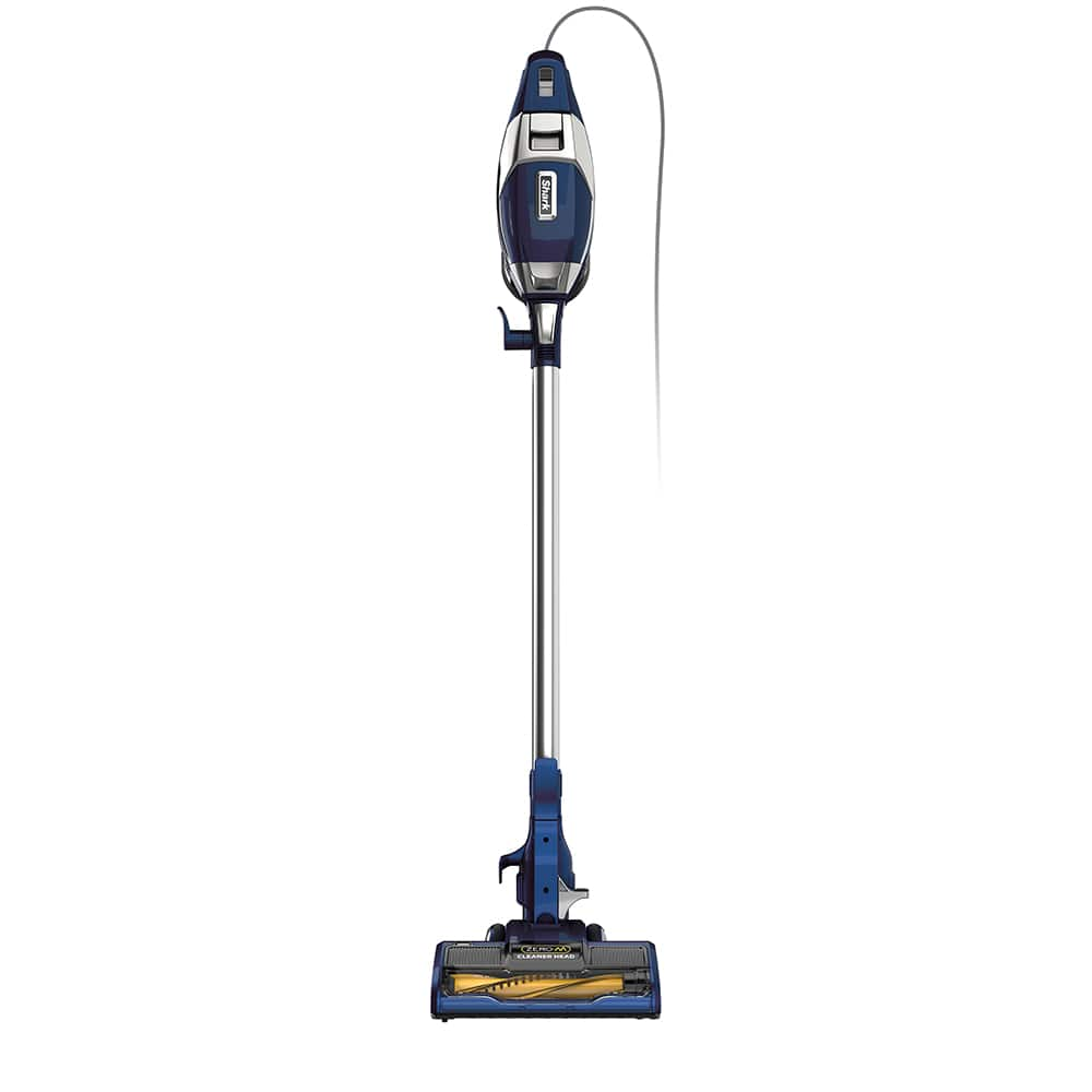 Shark® Rocket® Zero-M™ Ultra-Light Corded Stick Vacuum Shark® has created a Zero-M™ cleaner head to actively remove hair wrap from the brushroll. Add that to a vacuum cleaner with floor-to-ceiling versatility, an XL dust cup, and an ultra-lightweight design, and you've got the Shark® Rocket® Zero-M™ Corded Ultra-Light Vacuum.