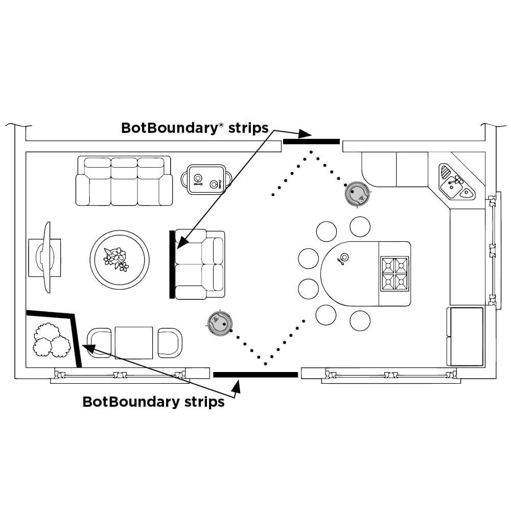 How do I set up my Shark® robot and prep my home for cleaning?